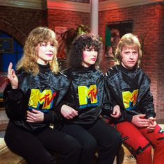"officialheart: "" Early 80's with Nancy, Ann, and Howard on MTV """