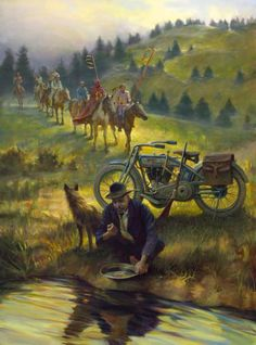 Racing Cafè: Motorcycle Art - David Uhl
