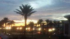 Jax beach at sunset