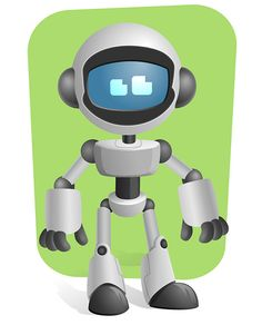 Robot Character Free Vector