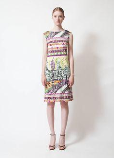 Prada | City Print Dress | RESEE