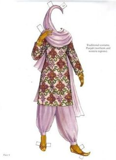 Traditional Fashions from India by penelope