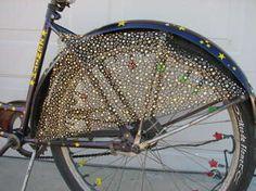 DIY Bike skirt-guard