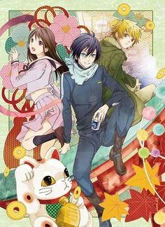 Hiyori, Yato, and Yukine
