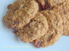 Oats Recipes, Sweet Recipes, Cookie Recipes, My Favorite Food, Favorite Recipes, Biscuits, Almond Cookies, Biscuit Cookies, Sweet And Salty
