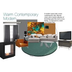 """""""Contemporary Modern"""" by livefordesign on Polyvore"""