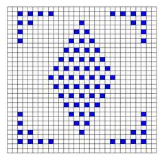 Ravelry: Decorative Bobble Charts pattern by Kari Philpott Graph Crochet, Crochet Motifs, Crochet Diagram, Crochet Squares, Thread Crochet, Filet Crochet, Crochet Stitches, Bobble Stitch Crochet Blanket, Crochet Blanket Patterns