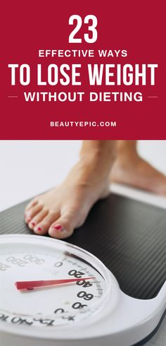 Do you know how to lose weight without dieting. By eating food you can control your weight. Here you can get some ideas to lose weight by reducing your calories.