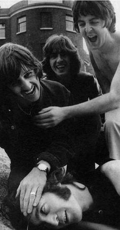 Them. They started it all. They changed the sound of rock n' roll, started my love of music, and became the gods of music. Seriously. The Beatles, always and forever.