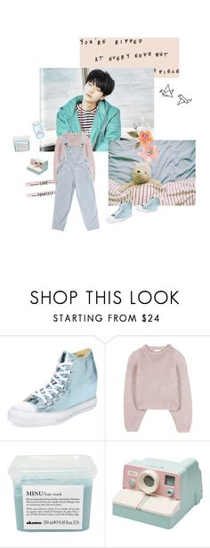 """""""The boy with the kaleidoscope eyes"""" by lauraaikoo ❤ liked on Polyvore featuring Converse, Chloé and Davines"""