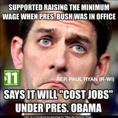 oh Mr. Ryan, what could POSSIBLY be the difference now?  I think you've caused enough people to starve already.