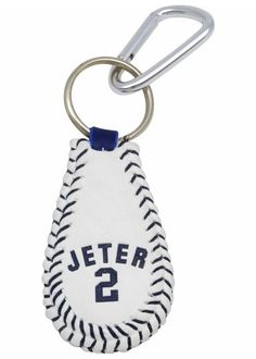 New York Yankees Derek Jeter baseball Keychain