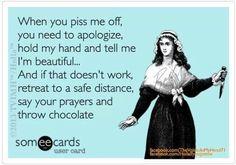 Yes and dark chocolate LOL