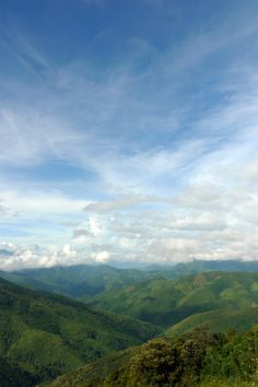 The view on the journey from Luang Prabang to Vang Vieng, Laos.