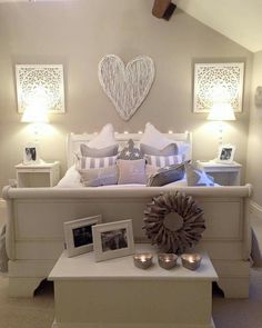 Maison Heswall beautiful neutral bedroom