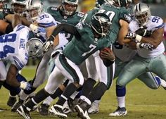 Eagles re-sign Michael Vick to a one-year deal.