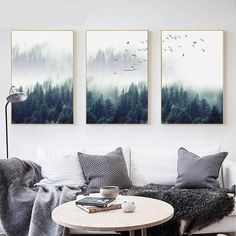 Günstige Nordic Decoration Forest Lanscape Wandkunst Leinwand Poster und Leinwanddruck - Diet Tips For Beginners - Eye Shadow Palette - DIY Jewelry To Sell - Braided Hairstyle - DIY Home Pictures Living Room Decor Pictures, Rooms Home Decor, Decor Room, Bedroom Decor, Kids Bedroom, Baby Bedroom, Framed Wall Art, Canvas Wall Art, Canvas Poster