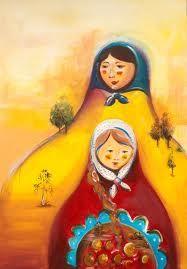 matryoshka painting - Google zoeken