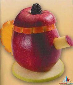 Что из овощей и фруктов вы делаете для детей? Посмотри фото, обсудим идеи - Из даров природы поделки различные – уникальные и необычные - Форум-Град