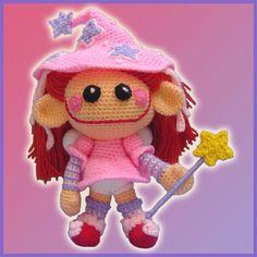 Little Fairy - Amigurumi Pattern by DeliciousCrochet by DeliciousCrochet, via Flickr