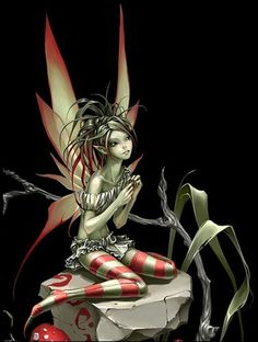 Fantasy - Fairy Wallpapers and Backgrounds Evil Fairy, Fairy Dust, Fairy Tales, Magical Creatures, Fantasy Creatures, Fantasy Kunst, Fantasy Art, Fantasy Fairies, Dragons
