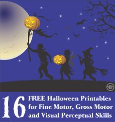 Check out these 16 FREE Halloween printables sensory motor skills including fine motor, gross motor, handwriting and visual perceptual activities. Visual Motor Activities, Visual Perceptual Activities, Sensory Activities, Craft Activities For Kids, Kid Crafts, Learning Activities, Occupational Therapy Activities, Pediatric Occupational Therapy, Pediatric Ot