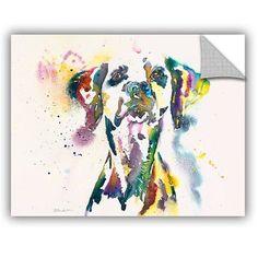 """ArtWall Dalmatian Wall Mural Size: 36"""" H x 48"""" W x 0.1"""" D"""