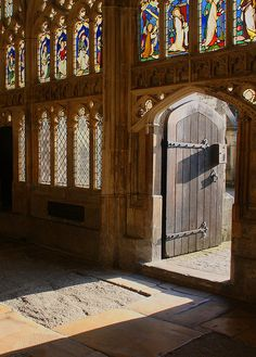 Gloucester Cathedral, Gloucestershire, England.