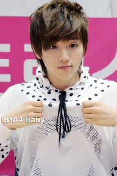 B1A4 Sandeul - Born in South Korea in 1992. #Fashion #Kpop