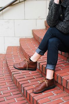 Women's North Pacific - BROWN | Chukka | Aurora Shoe Co.