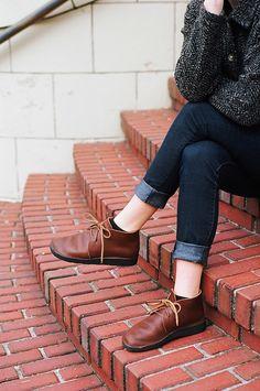 Women's North Pacific - BROWN | Chukka | Aurora Shoe Co.