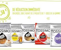 Coupon de réduction Tassimo !