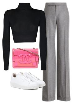 """""""Untitled #2024"""" by deamntr ❤ liked on Polyvore featuring Ralph Lauren Collection, WearAll, Chanel and Eytys"""