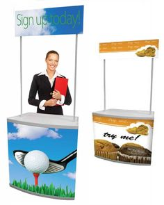 Counta Promotional Stand Promotional Stands, Outdoor Banners, Toy Chest, Storage Chest, Indoor, Display, Interior, Floor Space, Billboard