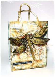 Sizzix: Tim Holtz Layered Dragonfly