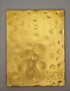 Yves Klein, Untitled (Monogold) 1960 ca. Gold leaf on primed board 78 1/2 x 60 1/4 x 3/4 inches The Menil Collection, Houston