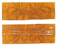 「紫地葡萄唐草文錦(むらさきじぶどうからくさもんにしき)」 8世紀