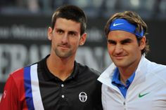 Roger Federer still is the man to beat, says Novak Djokovic