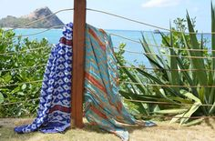 Theodora & Callum in St. Lucia. Try out different ways to wear with these scarves.