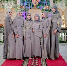 New Wedding Dress Hijab Gowns Style Ideas Hijab Prom Dress, Muslimah Wedding Dress, Hijab Evening Dress, Hijab Style Dress, Hijab Wedding Dresses, Maxi Dress Wedding, Muslim Dress, Simple Bridesmaid Dresses, Bridesmaids