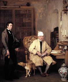 Wilkie, David (1785-1841) - 1813 The Letter of Introduction (National Gallery of Scotland, Edinburg)