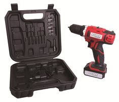 Masina pentru gaurire si insurubare cu baterie 12V cu 1 acumulatori LI ION Raider Power Tools Drill, Hole Punch, Drill Bit, Drills, Drill Press