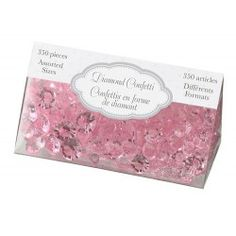 #BUY Diamond Confetti in Pink for your #wedding here: http://shop.weddingandweddingflowers.co.uk/index.php?id_product=56&controller=product