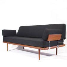 Peter Hvidt Minerva Mid-Century Teak Sofa Danish Modern