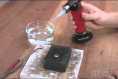 You can fuse metal together without having to solder it. By using a butane torch, you can heat your pieces of metal until they are almost but not quite melted. Once they reach this flashpoint, you can easily fuse the pieces together.