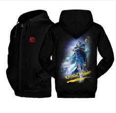 3D Crystal Maiden fleece hoodie for winter Dota 2 hero Rylai Crestfall