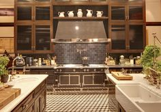 The great kitchen in Jeremy Renner's Mansion