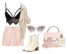 """""""calm"""" by viennaelgiva on Polyvore featuring Club L, WithChic, Isabel Marant, Kate Spade and Rimmel"""