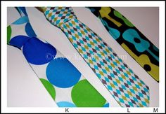 Custom Toddler Neck Ties by KucaBaby on Etsy, $16.00