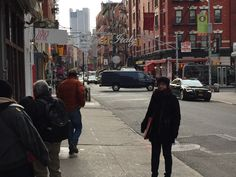 Me in Little Italy. NY